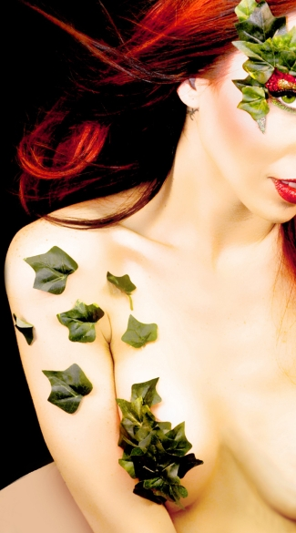 Toxic Ivy Leaves, Ivy Leave Body Stickers, Eve Costume Body Stickiers