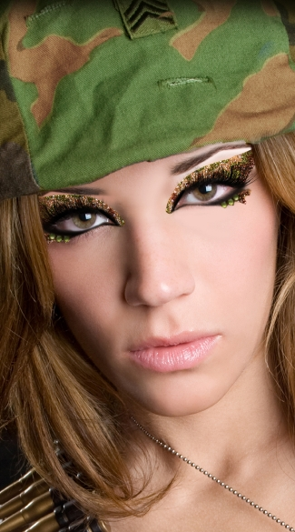 Cami Camouflage Eye Kit, Camo Eye Make Up Kit