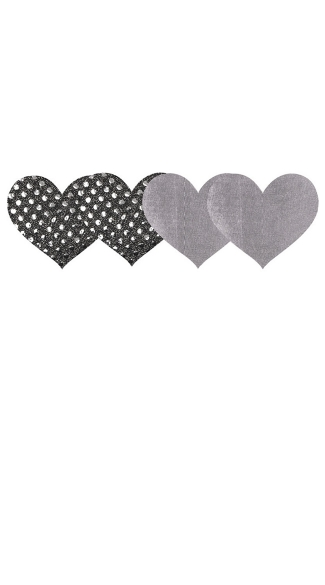 Dark Angel Hearts Pasties