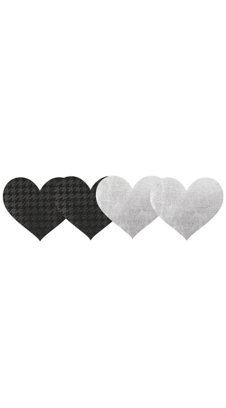 Private Plane Hearts Pasties 2 Pack