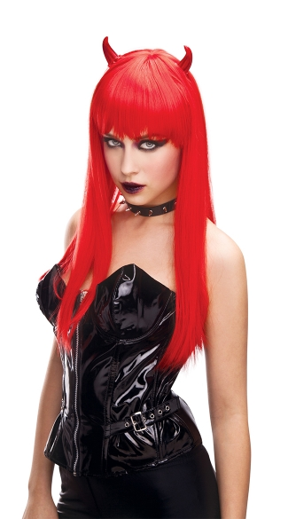 Prada Red Devil Wig