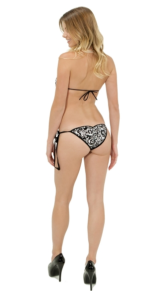Glow in the Dark Printed Monokini