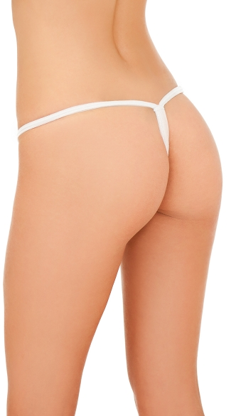 Winterland G-String with Faux Fur