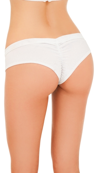 Sporty Scrunch Back Holiday Boyshort