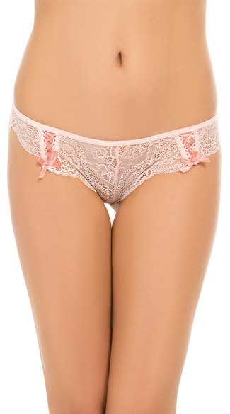 After Hours Pink Lace Thong, Pink Lace Thong, Pink Thong