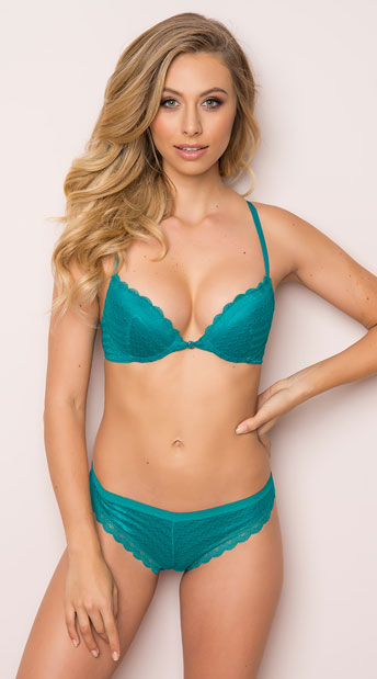 Yandy Green Chasing Geo Thong, green lace thong - Yandy.com