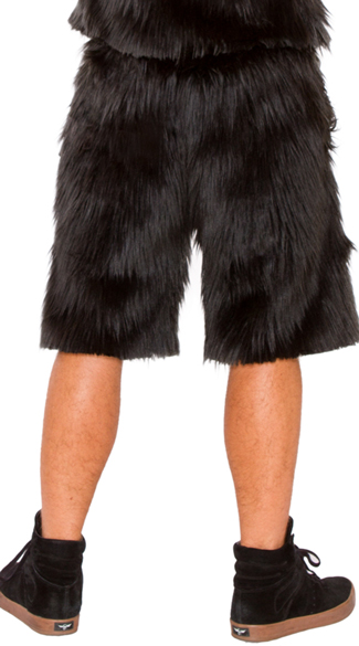 Men\'s Furry Gorilla Shorts