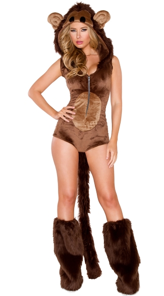 Deluxe Furry Monkey Costume