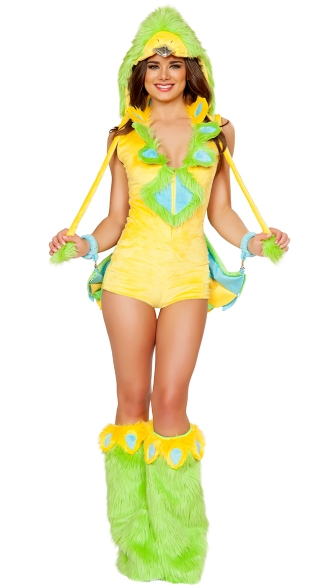 Parakeet Romper with Wings