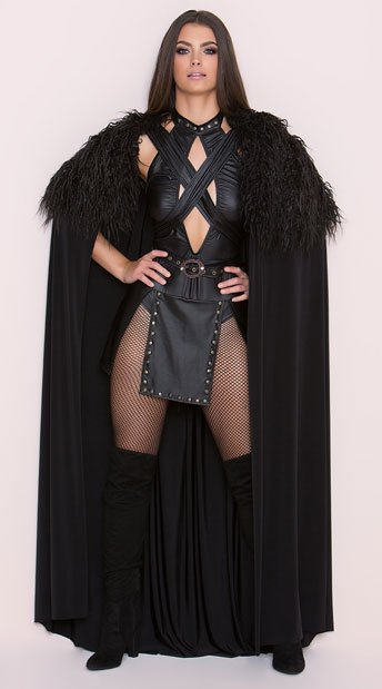 You too can command the Night's Watch with this kinky outfit