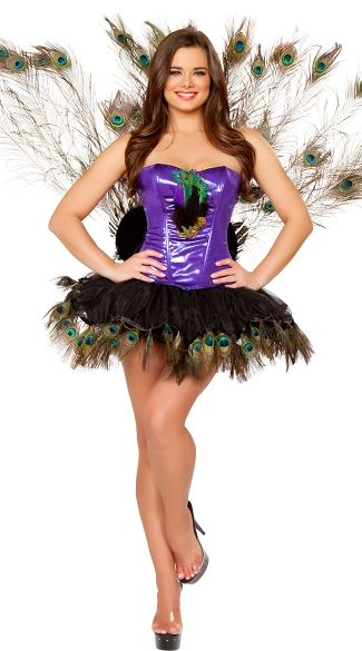 Peacock Hottie Costume