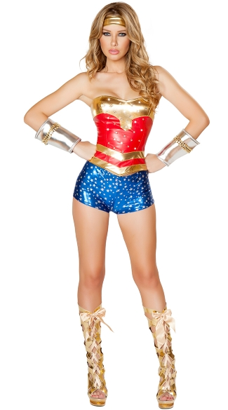 Deluxe Powerful Girl Costume