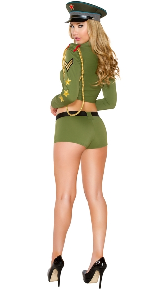 Sexy Army Babe Costume