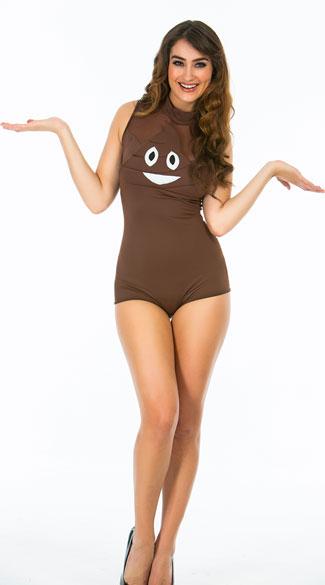 Yandy Poop Emoji Costume