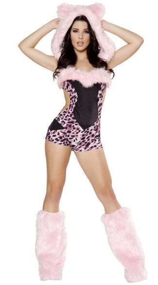 Pink Leopard Costume