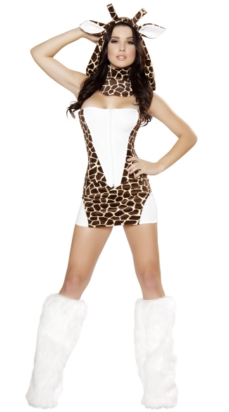 Sexy Giraffe Costume, Giraffe Halloween Costume, Giraffe Costumes for Women