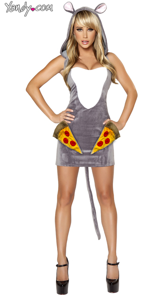 Pizza Rat Costume