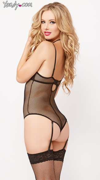 Black Cage Teddy