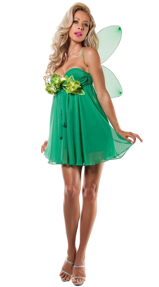 Green Fairy Princess Costume