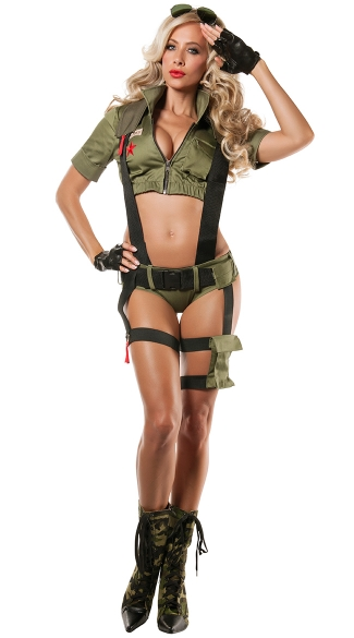 Paratrooper Penny Costume