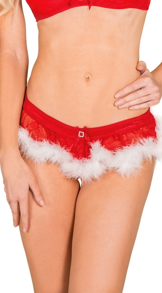 Santa\'s Secret Skirted Thong