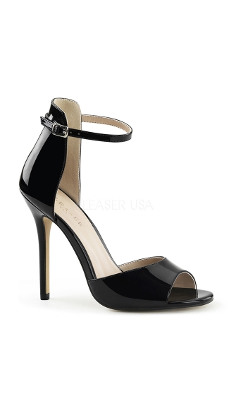 Lady of the Night Patent Stiletto Sandal