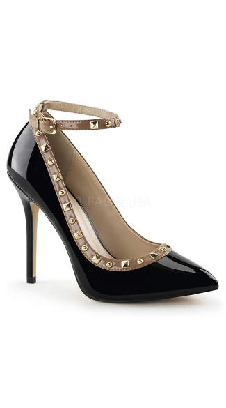 Like A Boss Studded Pumps, Pointy Toe Pumps, Studded Pumps