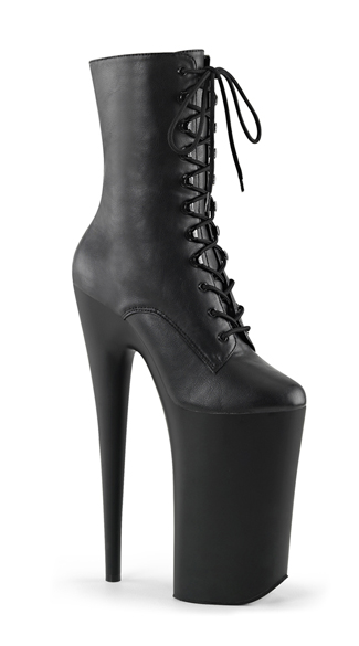 10 Inch Lace-Up Ankle Boot