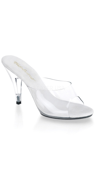 "4"" Clear Stiletto Heel, Sexy Clear Heel, Sexy Small Heel"