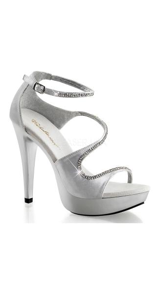 strappy 5 inch heel platform heel shoes strappy high heels. Black Bedroom Furniture Sets. Home Design Ideas