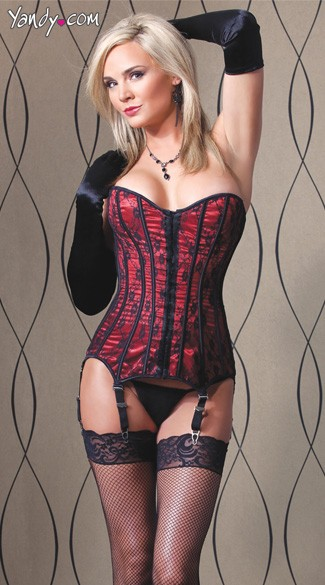 Lace and Satin Corset