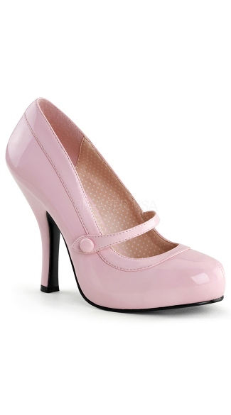 "4 1/2"" Heel, 3/4\"" Hidden P/f Mary Jane Pump"