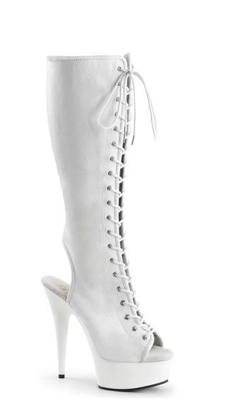 Get Tied Up Knee High Boot