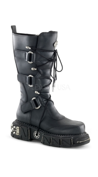 Lace Up Front Combat Boot