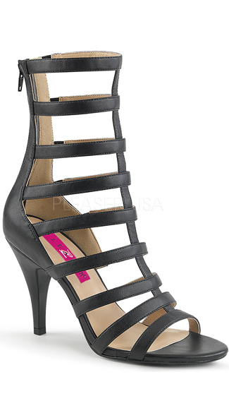 "4"" Gladiator Ankle Boot, Strappy Sandal - Yandy.com"