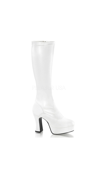 "Exotica Stretch Platform Boot with 4"" Heel"