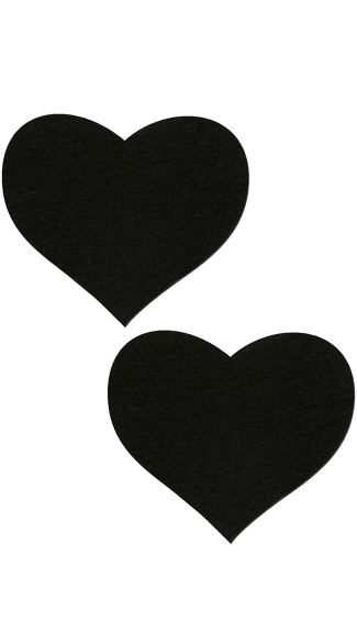 Black Heart Pasties, Black Pasties, Heart Shaped Pasties