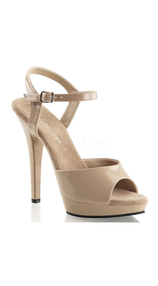 "Classic 5"" Heel Sandal with Ankle Strap"