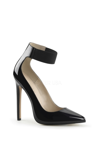 Cuffed Love Pointy Toe 5 Inch Pump