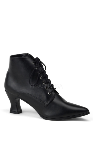 Victorian Lace Up Bootie