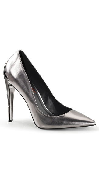 Chrome Obsession Pointy Toe Pump