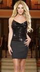 Heat Of The Moment Bandage Club Skirt, Black Bandage Skirt