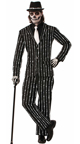 Plus Size Men's Tuxedo Skeleton Costume, Plus Size Skeleton Halloween Costume, Plus Size Mens Skeleton Costume