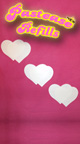 Heart Shaped Pastease, Black and Pink Heart Pasties