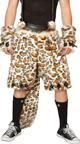 Mens Leopard Costume Mens Leopard Shorts Male Leopard