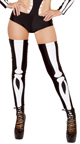 Seductive Skeleton Costume, Sexy Skeleton Costume, Romper Costume