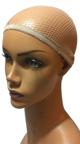 Bobbed Orange Wig, Basic Orange Wig, Short Orange Wig