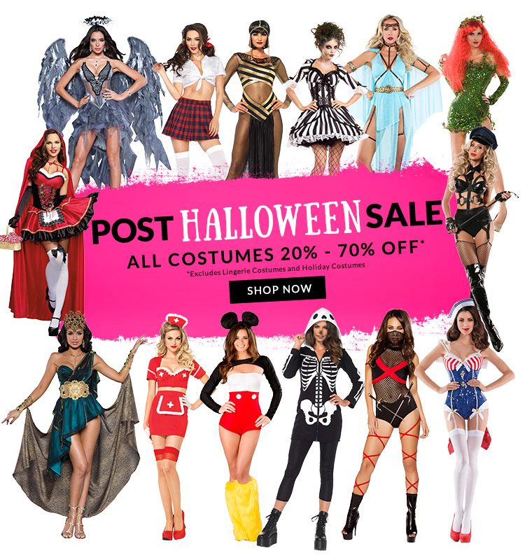 Post Halloween Sale - All Costumes 30% - 70% OFF