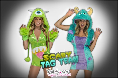 Scary Tag Team
