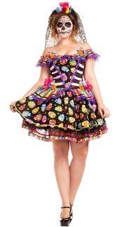 Plus Size Day of the Dead Costumes, Plus Size Dia De Los Muertos ...